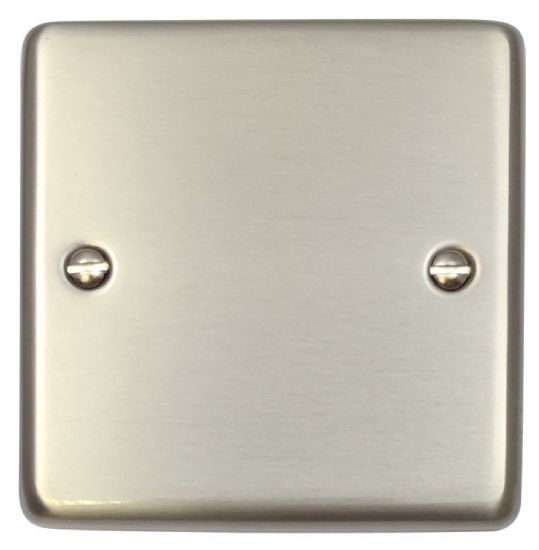 G&H Standard Plate Brushed Stainless Steel